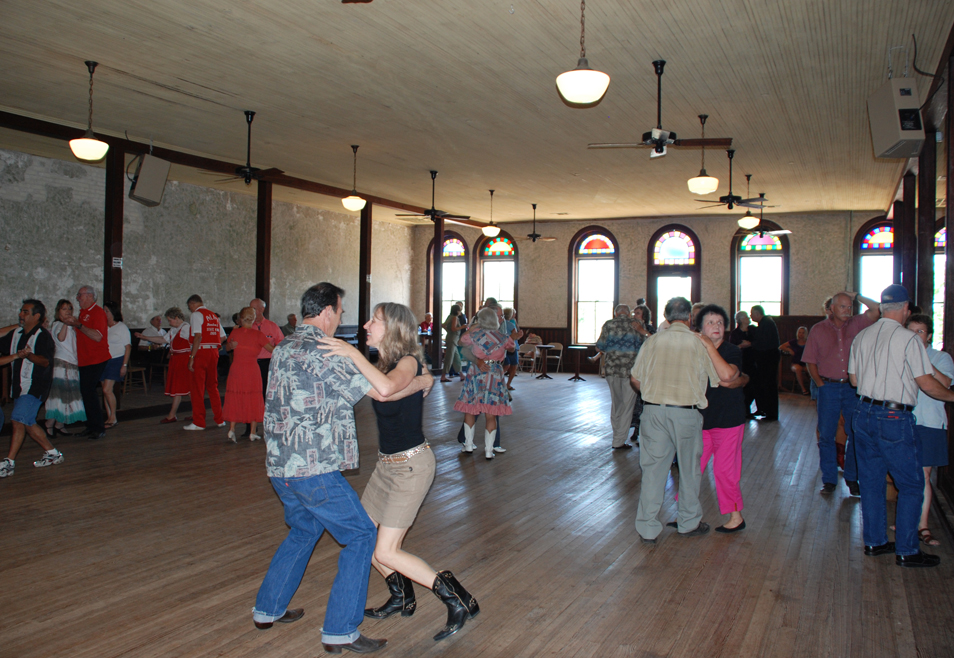 Restored dance hall Hester + Hardaway