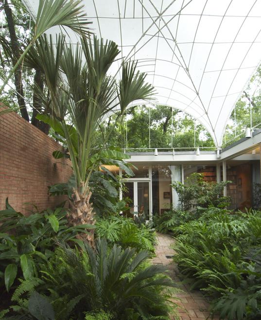Courtyard following renovation Hester + Hardaway