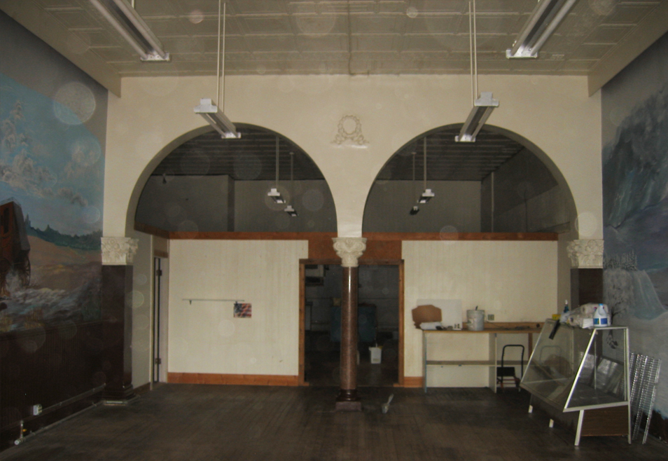 Saloon prior to renovation Hester + Hardaway