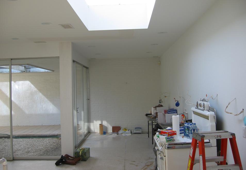 Prior to renovation