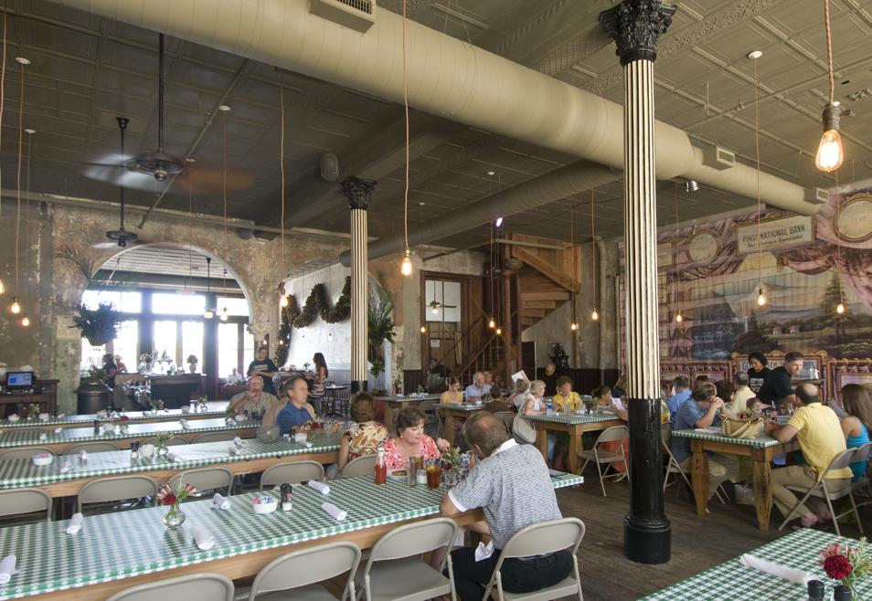 Restored restaurant Hester + Hardaway